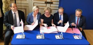 La signature de l'accord national Cap vers l'entreprise inclusive